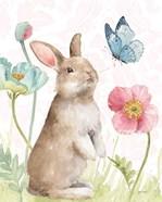 Spring Softies Bunnies  II Pink