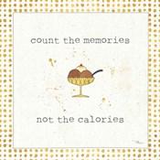 Calorie Cuties VI Dot Border