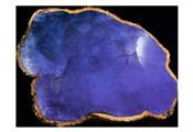 Blue Purple Agate Marble