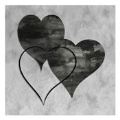 Triptych Hearts