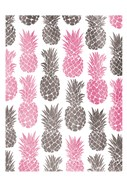 Pink Grey Pineapples