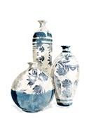 White China Vases
