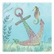 Anchored Seahorse