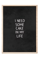 Cake In My Life Black