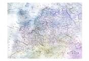 Watercolor Map 1