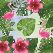 Tropical Life Flamingo I