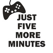 Five More Minutes BW