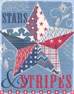 Stars and Stripes Star Dark