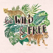 Jungle Vibes VII - Be Wild and Free Pink
