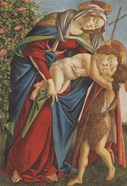 Madonna with Child Embracing the Young St John