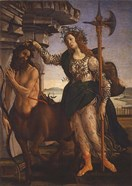 Pallas Athena and the Centaur, 1482