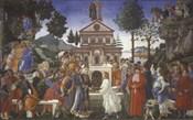 The Temptation of Christ, 1481-1482