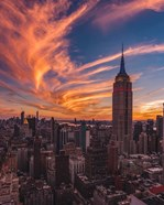 9-11 New York Sunset
