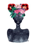Flower Crown Silhouette II