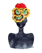 Flower Crown Silhouette IV