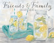 Friends and Family Country Lemons Landscape