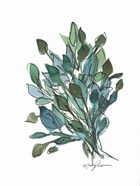 Blue Green Leaves