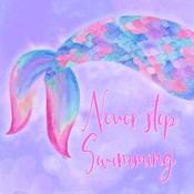 Mermaid Life II Pink/Purple