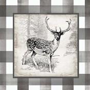 Buffalo Check Deer Neutral I