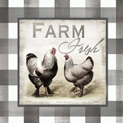 Buffalo Check Farm House Chickens Neutral II