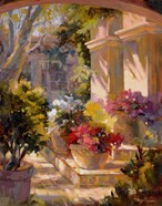 Flowered Courtyard