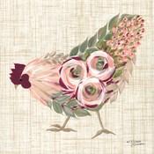Botanical Rooster II