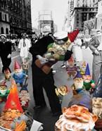Garden Gnomes - VJ Day