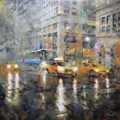 Manhattan Orange Rain
