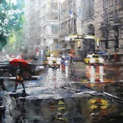 Manhattan Red Umbrella