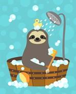 Bathing Sloth