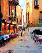 Street Cafe after Rain