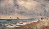 Hove Beach with Fishing Boats