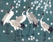 Crane at Night I