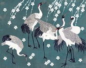 Crane at Night II