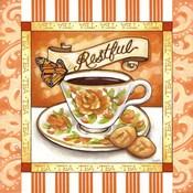 Tea Restful Orange Teacup