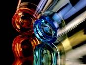 Colourful Plastic Glasses 2