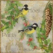 Christmas Birds I