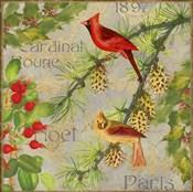 Christmas Birds II