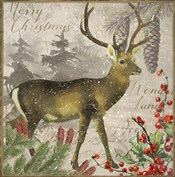 Christmas Deer I