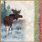 Snow White Christmas Moose
