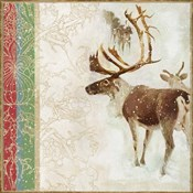 Snow White Christmas Reindeer