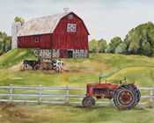 Rural Red Barn B