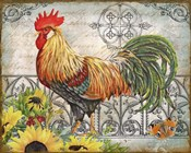 Ironwork Rooster A