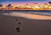 Footsteps At Sunrise