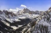 Snow Covered Maroon Bells