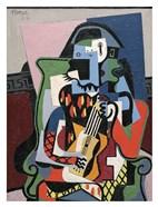Harlequin Musician, 1924 (Arlequin Musicien)