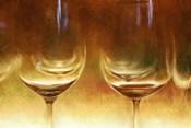 Amber Wine Glasses