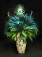 Peacock Art Nouveau Bouquet