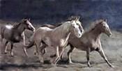 Rustic Running Horse Herd