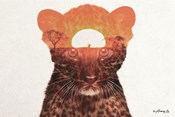 Leopard with Sun